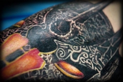 Sauron Tattoo von Good Times Tattoo Philippsthal