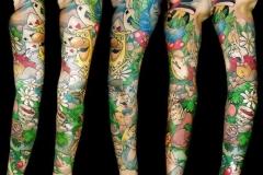Alive im Wunderland Tattoo von Good Times Tattoo Philippsthal